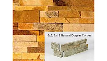 Natural Stone Dogear Corner | Honey Wheat | Sandstone