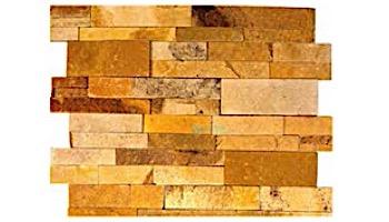 Natural Stone Ledger Panel 6x24 | Honey Wheat | Sandstone