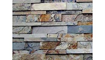 Natural Stone Ledger Panel 6x24 | Indian Autumn | Slate