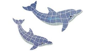 AquaStar Swim Designs Medium Dolphin Pre-Filled Frame | F2015-01