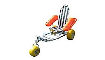 Aqua Creek Floating Beach Wheelchair | F-017WWBC