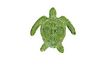 "Artistry In Mosaics Loggerhead Turtle Mosaic | Blue - 6"" x 6"" | TLOBLUB"