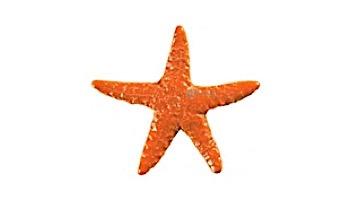 "Artistry In Mosaics Starfish Mosaic | Aqua - 5"" | STAAQUB"