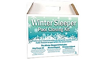 ClearView Winter Chlorine Sleeper Pool Closing Kit | Up To 35,000 Gallons | WS3500