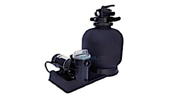 "CaliMar® Above Ground Pool Sand Filter System | 19"" Filter 1 HP Pump | 5-1776-002"