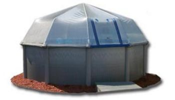 Fabrico Sun Dome All Vinyl Pool Dome for Doughboy & CaliMar® Above Ground Pools | 12' x 20' Oval | SD141220 212070