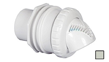 """Infusion Pool Products Venturi Return Fitting   Standard Wall Assembly 1"""" Inside 1.5"""" Outside Inlet   White   VRFSWAWH"""