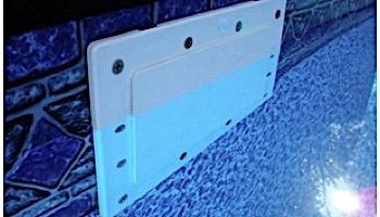 "SimPoolTec Inground Skimmer Plug | 7-9/16"" x 5-5/8"" | Standard Faceplate | IGSD-H"