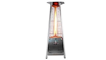 Lava Heat Italia© Capri A-Line Commercial Patio Heater | Triangular 6-Foot | Stainless Steel Propane | AL6MPS LHI-104