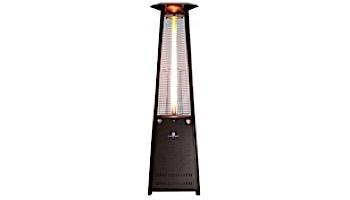 Lava Heat Italia© Lava Lite A-Line Commercial Patio Heater | Triangular 8-Foot | Heritage Bronze Natural Gas | AL8MGB LHI-132