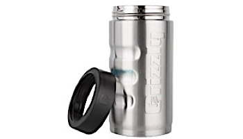 Grizzly Stainless Steel Grip Pounder 16 oz   Brushed Stainless Finish   450065