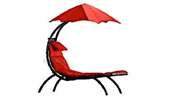 Vivere The Original Dream Lounger   Cherry Red   DRMLG-CR