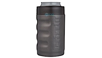 Grizzly Stainless Steel Grip Can 12 oz   Textured Charcoal Finish   450111