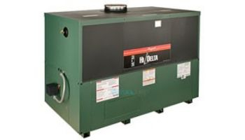 Raypak HI Delta P-1262C Cold Run Low NOx Commercial Swimming Pool Heater with Versa Control | Natural Gas 1,260,000 BTUH | Cupro Nickel Heat Exchanger | 016089
