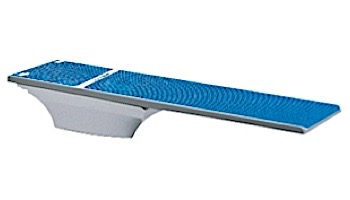 SR Smith Flyte-Deck II Stand With TrueTread Board Complete   6' Radiant White with Blue Top Tread   68-207-7362B