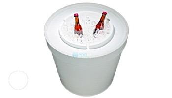 Ledge Lounger Ice Bin Lid   White   LLIBT-W