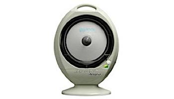 EcoJet Angra Residential Tabletop Misting Fan | 1 Gallon Reservoir | 200 Sq. Ft. Cooling Area | White | LVP-010302
