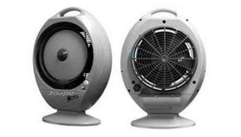 EcoJet by Joape Model Bob - 353 CFM Residential Tabletop Misting Fan | 2 Gallons Reservoir | 400 Sq. Ft. Cooling Area | Black | LVP-020303