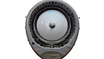 EcoJet by Joape Model Cyclone 737 Commercial Wall Mount Misting Fan | Requires Water Line | 110V-60hz | 800 Sq. Ft. Cooling Area | Grey | LVP-030101