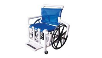 "Aqua Creek 24"" Pool Access Chair | Mesh Seat | F-520XWSPM"