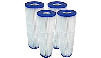 Replacement Cartridges for Pentair Quad DE 60 | 4-Pack | 178654 C-6960 XLS-621  FC-1961 PC-1961 FC-6480