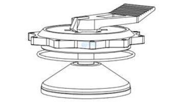 "Aqua Ultraviolet 2"" Valve Key Handle Assembly   A50062"