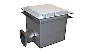 "Neptune Benson Main Drain 24""x24""x24"" with AEGIS Anti-Entrapment Shield | Stainless Steel | 242424SSMD-AE-8"