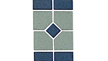 National Pool Tile Grace Series Pool Tile | Blue | GRACE-POISE