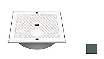 AquaStar Square Skimmer Lid and Collar | Dark Gray | SK64105