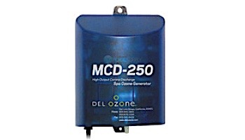 DEL OZONE MCD-250 High-Output Ozone System for Spas | 3,000 Gallons | 120V/240V | Mini Ozone Cord | MCD-250U-03