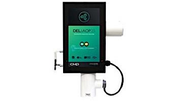 DEL AOP S Ozone + UV Sanitation for Residential Pools | 25,000 Gallons | 120V/240V | SEC-50-01