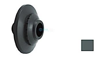 "AquaStar Three-Piece Directional Eyeball Fittings   1"" Knock-In   with Flange .5"" Orifice   White   5301"
