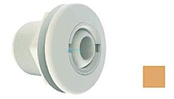 "Aquastar Large 2"" Return Fitting | with Nug and Eyeball Nut | for Fiberglass or Steel | No Gasket | White | 1020TS101"
