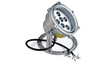 FountainTek White Underwater LED Lamp   9W 12V   MW955 LED