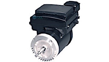 Replacement Threaded Shaft Variable Speed Motor & Control 3HP   230V 56 Round Frame Full-Rated   AVSJ3