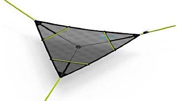 Levitat Revolutionary Aerial Mat | Neon Green | LEVI-NG | LEVI-01
