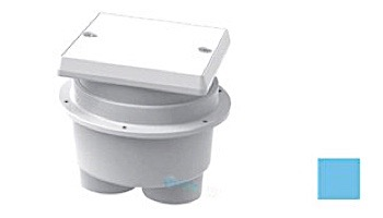 AquaStar Junction Box with Square Lid | White | JBS101