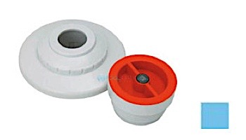 """AquaStar 1/2"""" Extender with 3 pc Decorative Cover and Plaster Cap with 1/2"""" Orifice   White   MP101C"""