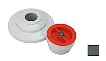 """AquaStar 1/2"""" Extender with 3 pc Decorative Cover and Plaster Cap with Slotted Orifice   White   MP101D"""