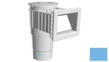 "AquaStar Flow Star Skimmer with 5"" Deep Throat, Float Assembly, Basket, Lid and Adjustable Collar for Fiberglass with 6"" Socket Sump | White | SKRFL12101F"