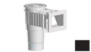 "AquaStar Flow Star Standard Skimmer with Narrow 9"" Deep Throat, Float Assembly, Basket, Lid and Adjustable Collar with 6"" Socket Sump for Vinyl   White   SKRVFL3N101F"