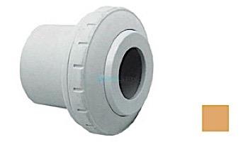 "AquaStar Directional Eyeball Fitting 3 pc 1 1/2"" Slip Insider 3/4"" Orifice   White   SL8201"