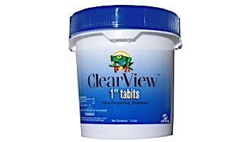 """ClearView 1"""" Tablets Slow Dissolving Chlorine Tabs 