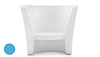 Ledge Lounger Affinity Collection Outdoor Chair | White | LL-AF-CR-W