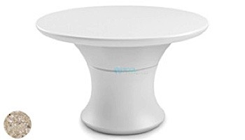 """Ledge Lounger Affinity Collection 60"""" Round Outdoor Dining Table 