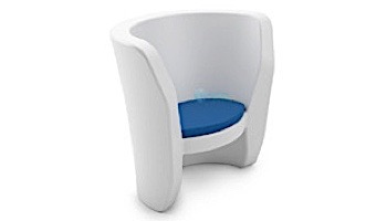 Ledge Lounger Affinity Collection Outdoor Chair Seat Cushion | Standard Fabric Oyster | LL-AF-CR-SC-STD-4642