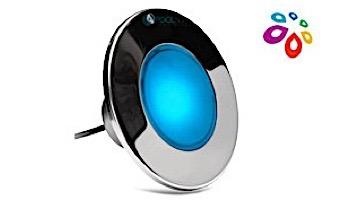 J&J Electronics ColorSplash XG-W Series RGB + White LED Pool Light SwimQuip Version | 120V Equivalent 33W 30' Cord | LPL-F2CW-120-30-PSQ