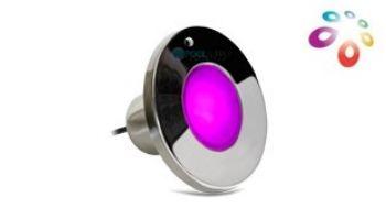 J&J Electronics ColorSplash XG-W Series RGB + White LED Spa Light   12V 30' Cord   LPL-S2CW-12-30-P