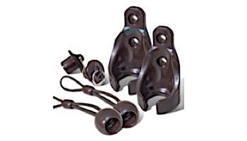 Coolaroo Bungee Tie Down Conversion Kit | Brown | Z 11-BUNGEE CKBR