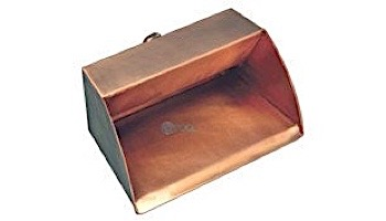 "FountainTek Copper Trough Scupper 6""   FTTSF6"